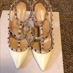 Shoes - Classic rockstud slingback pump Upraise
